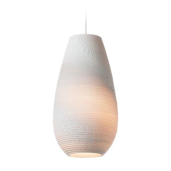 Graypants Drop 18 White hanglamp