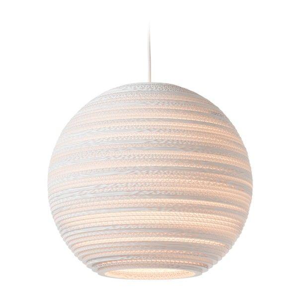 Graypants Moon 14 White hanglamp