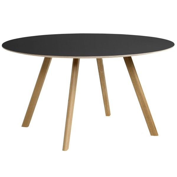 Hay Copenhague CPH25 tafel gelakt eiken 140