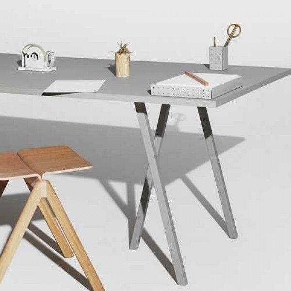 Hay Loop Stand tafel 200x93 grijs