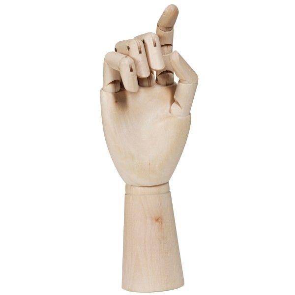 Hay Wooden Hand kunst large