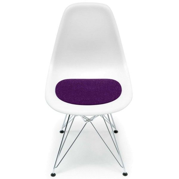 Hey-Sign Eames Plastic Sidechair zitkussen zonder anti-slip
