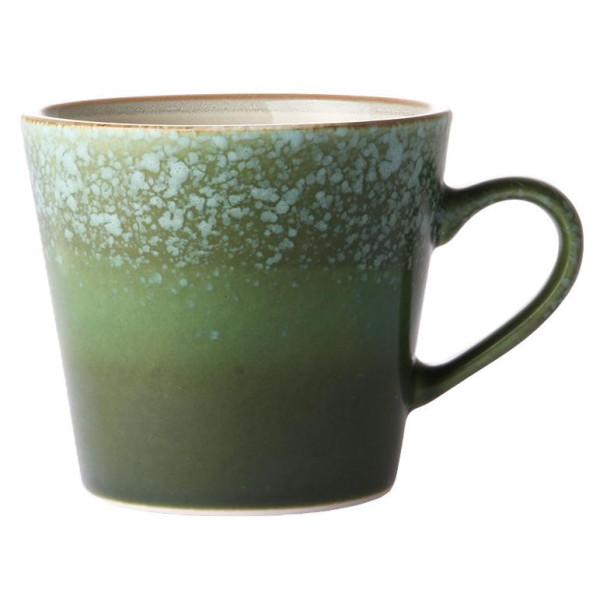 HKliving 70's Ceramic Cappuccino mok