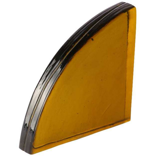 HKliving Glass object mustard woondecoratie