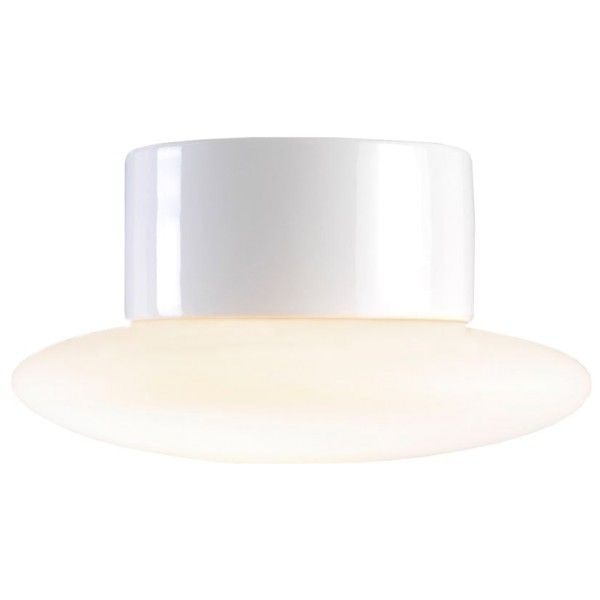 Ifö Electric Aton Caïro plafond-en wandlamp porselein IP44 LED 3000K