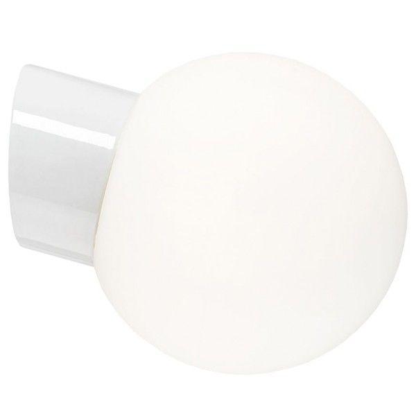Ifö Electric Classic Globe wandlamp porselein wit IP54 180mm LED