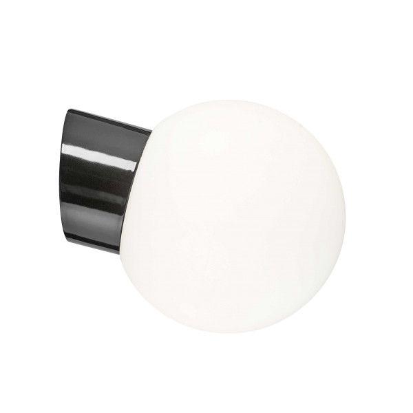 Ifö Electric Classic Globe wandlamp porselein IP54 180mm
