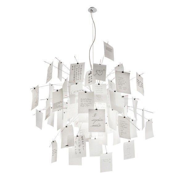 Ingo Maurer Zettel'z 5 hanglamp