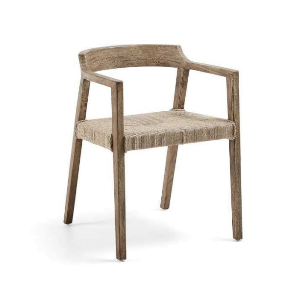 Kave Home Kolman stoel met armleuningen