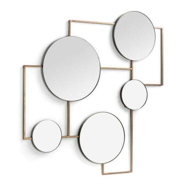 Kave Home Platte spiegel