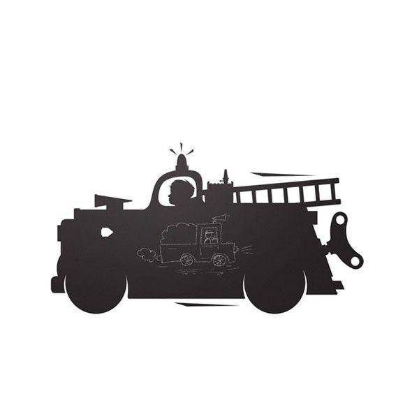 KEK Amsterdam Toys for Boys: Firetruck muursticker