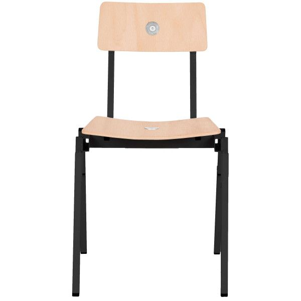 Lensvelt Made In The Workshop Stackable Chair beukenhout