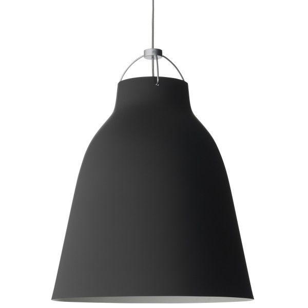 Lightyears Caravaggio Matt P4 hanglamp zwart