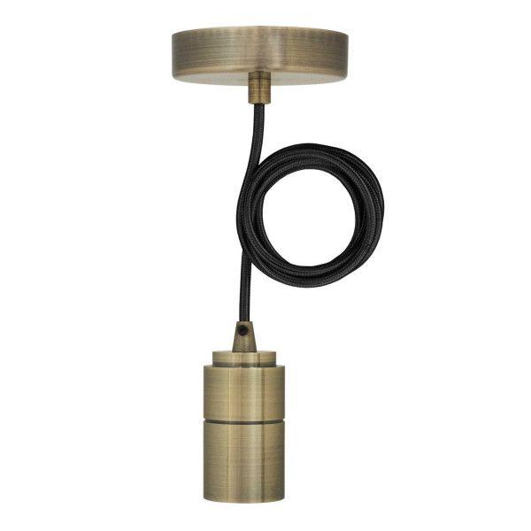 Livingstone Design Drury hanglamp E27 brons
