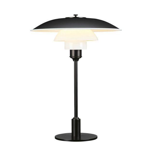 Louis Poulsen PH 3,5-2,5 tafellamp zwart