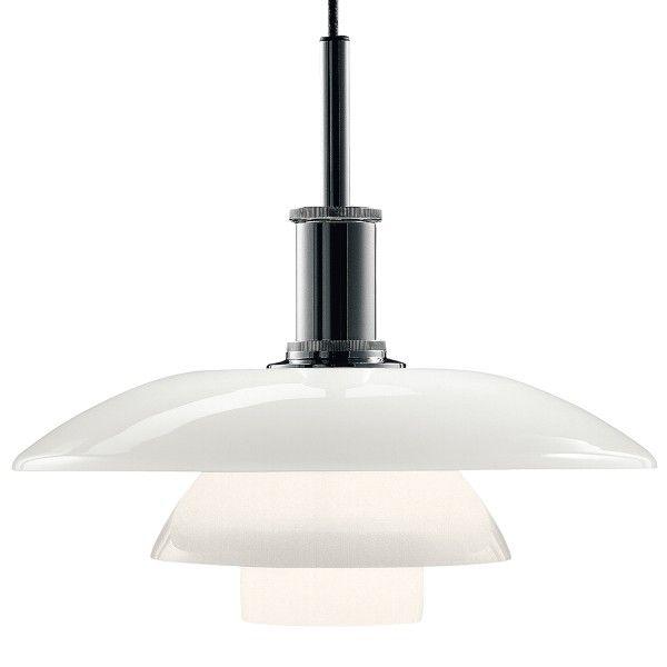 Louis Poulsen PH 4,5-4 hanglamp glas