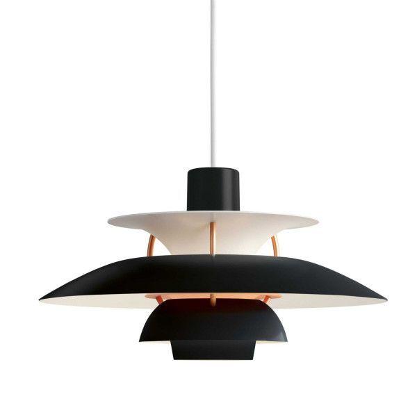 Louis Poulsen PH 5 hanglamp mini zwart