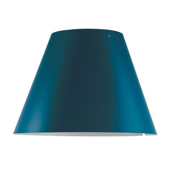 Luceplan Costanza lampenkap petroleum blue