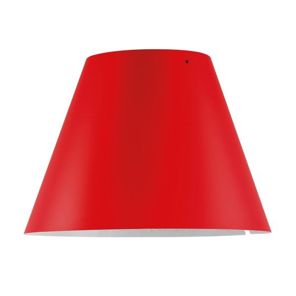 Luceplan Costanza lampenkap primary red