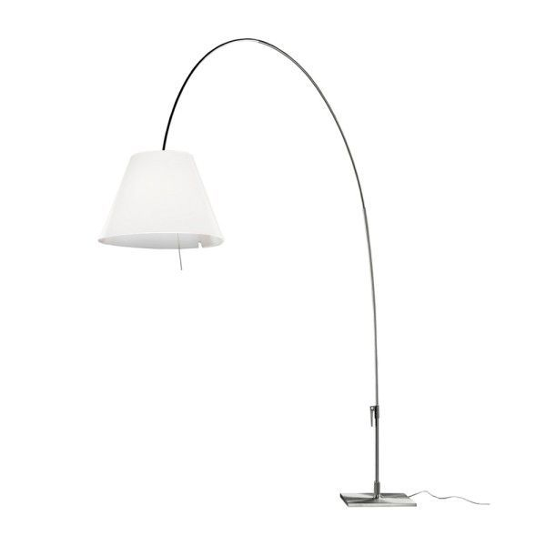 Luceplan Lady Costanza vloerlamp met dimmer aluminium