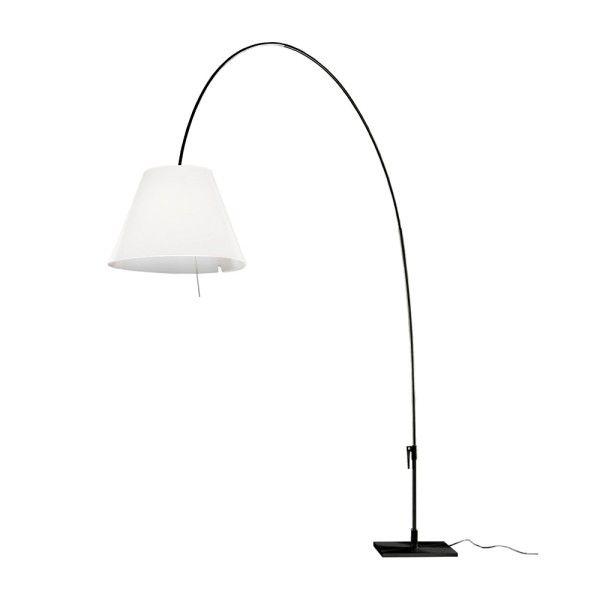 Luceplan Lady Costanza vloerlamp met aan-/uitschakelaar zwart