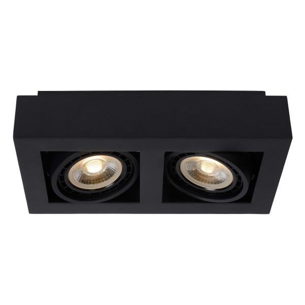 Lucide Zefix 2 spot LED dim to warm