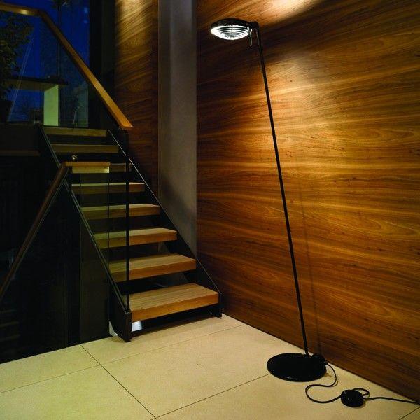 Lumina Elle 1 vloerlamp halo met dimmer