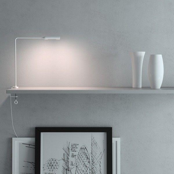 Lumina Flo clamp bureaulamp LED met tafelklem