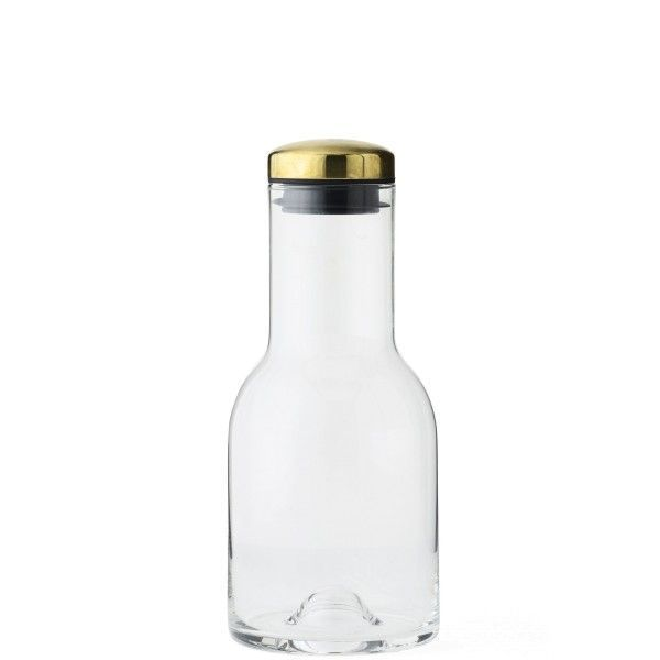 Menu Water Bottle 0,5L, messing dop