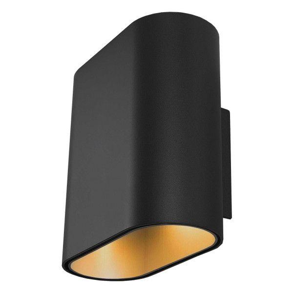 Modular Duell wandlamp LED zwart met goud