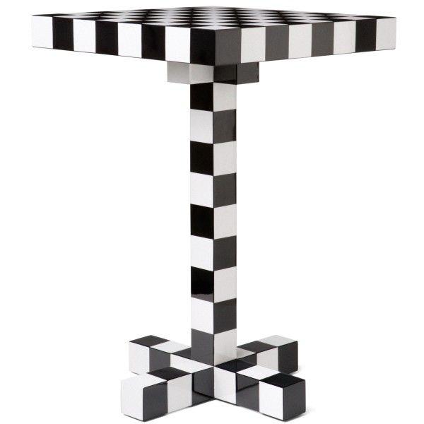 Moooi Chess bijzettafel 40x40