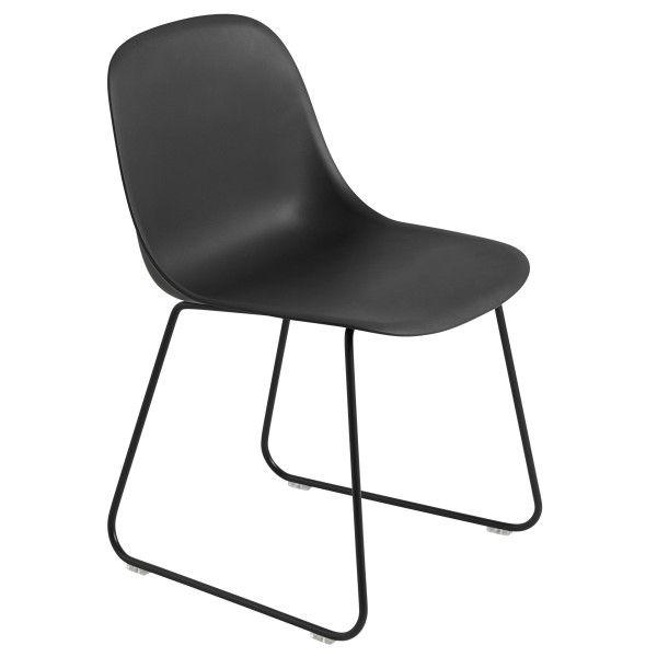 Muuto Fiber Side Sled stoel