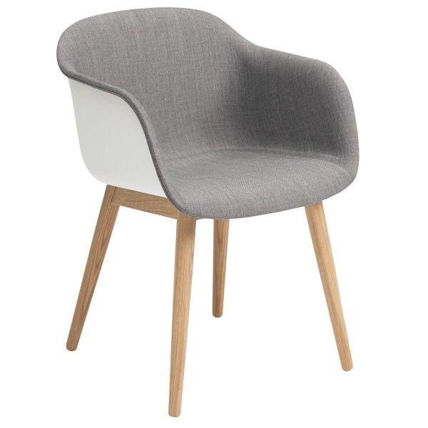 Muuto Fiber Wood Front Upholstery stoel