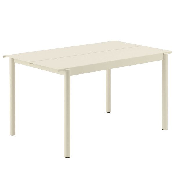 Muuto Linear tafel wit 140x75