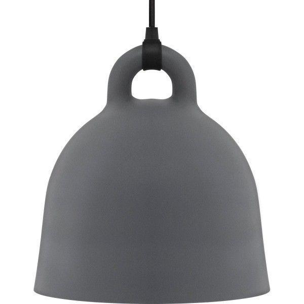 Normann Copenhagen Tweedekansje - Bell hanglamp small, grijs