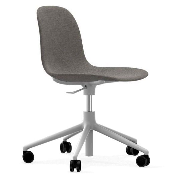 Bureaustoel De Wit.Normann Copenhagen Form Chair Bureaustoel Met Wit Onderstel