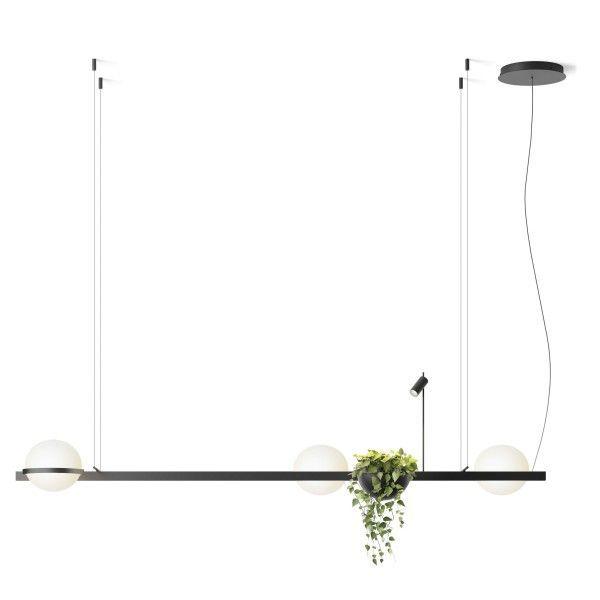 Vibia Palma hanglamp 3736 LED met plantenbak