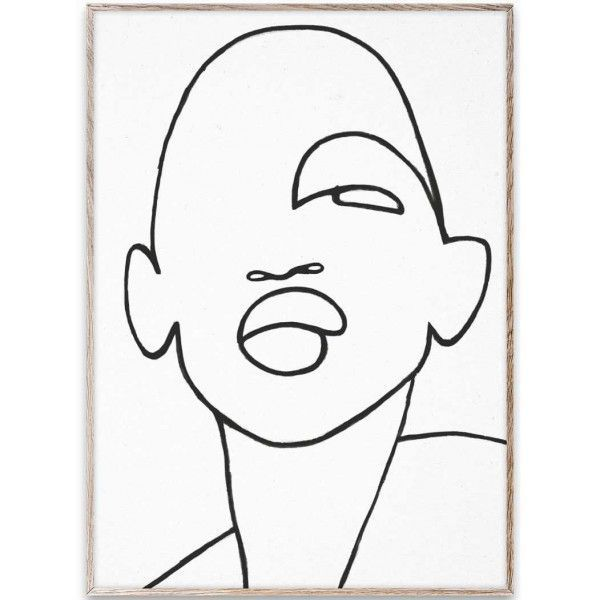 Paper Collective Faberge poster incl. eiken lijst 50x70