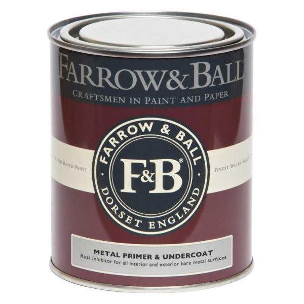 Farrow & Ball Primer en Undercoat 750ml metaal binnen en buiten, witte en lichte tinten