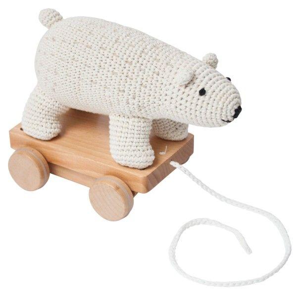 Sebra Trek Ijsbeer speelgoed