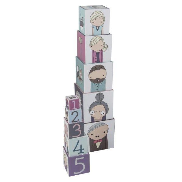Sebra Village stapelblokken speelgoed
