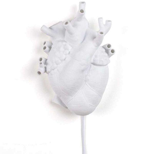 Seletti Heart wandlamp
