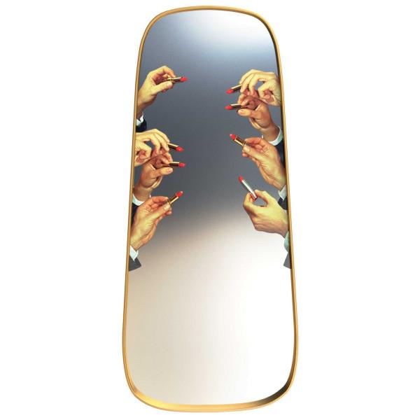 Seletti Mirror Gold frame spiegel 62x140