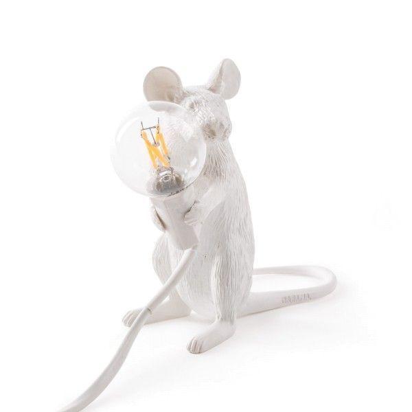 Seletti Mouse Lamp Sitting tafellamp