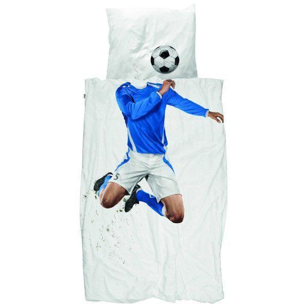 Snurk Soccer Champ dekbedovertrek 140x200
