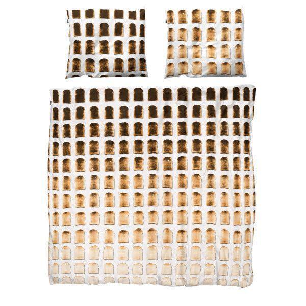 Snurk Toast dekbedovertrek 260x220