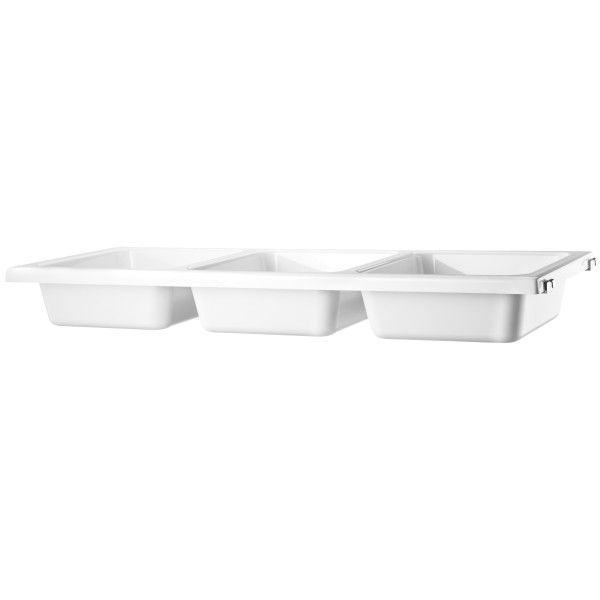 String Bowl Shelf 78 x 30 cm wit plastic