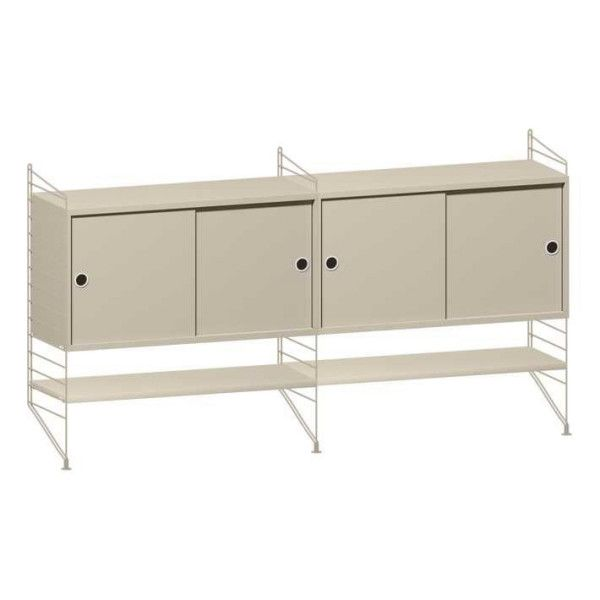 String Dressoir medium, beige
