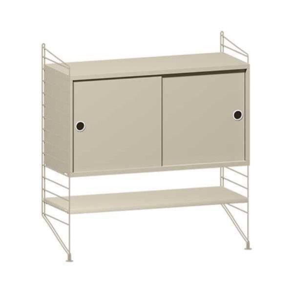 String Furniture Dressoir small, beige