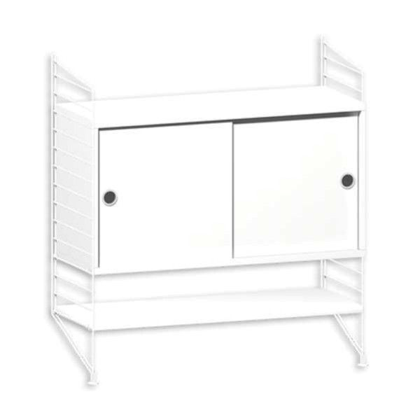 String Furniture Dressoir small, wit